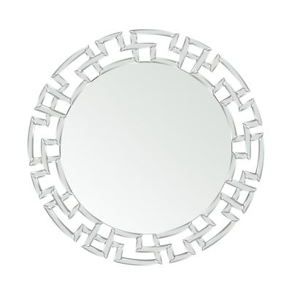 Kyra Glam Round Wall Mirror