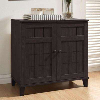 office wood. Glidden Dark Brown Wood Storage Cabinet Office Wood