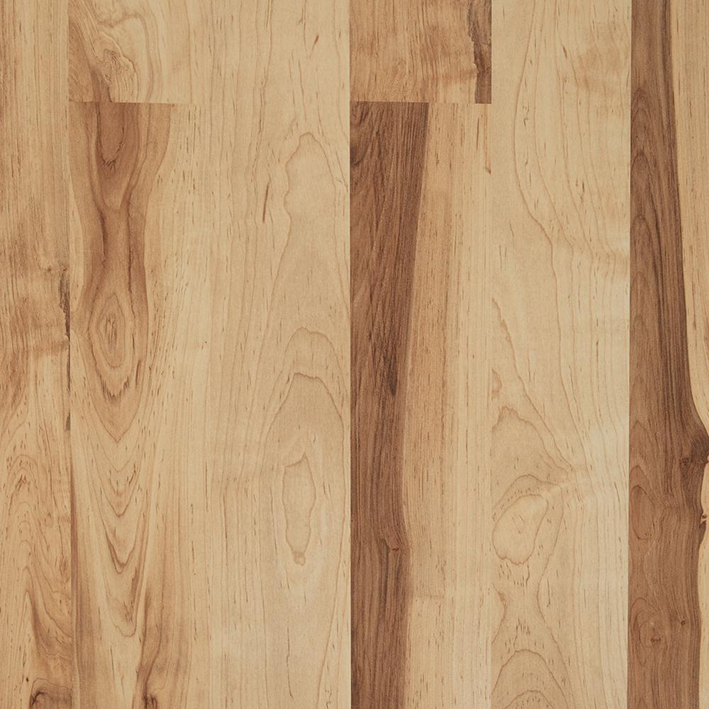 Take Home Sample - Colburn Maple Laminate Flooring - 5 in. x 7 in.
