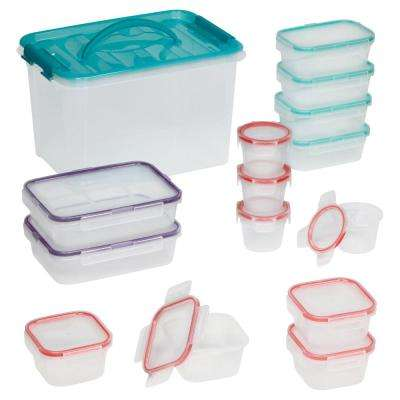Airtight 30-Piece Plastic Storage Set
