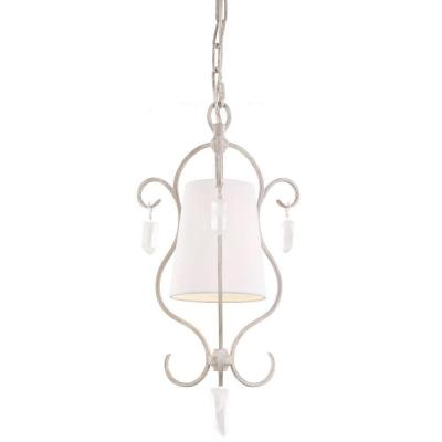 Caprice 1-Light Chalk Washed Mini Pendant