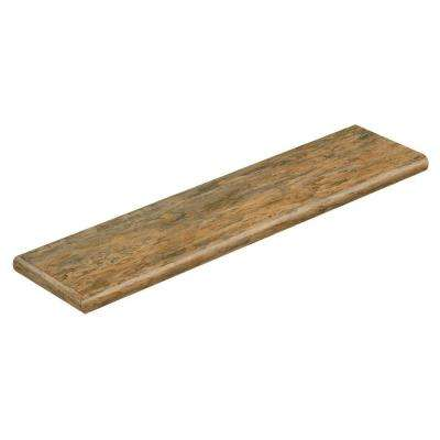Ashlar/Cyprus 47 in. Long x 12-1/8 in. Deep x 1-11/16 in. Height Vinyl Left Return to Cover Stairs 1 in. Thick