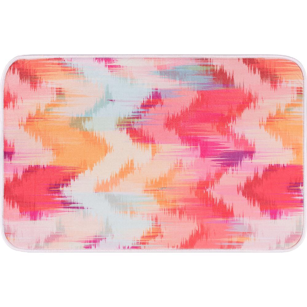 Luxor Home Multi-Color 20 in. x 30 in. Anti-Fatigue Non-Slip Comfort Mat
