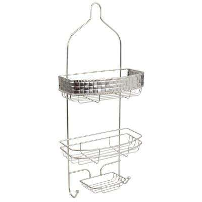 Luxor Shower Caddy in Satin Nickel