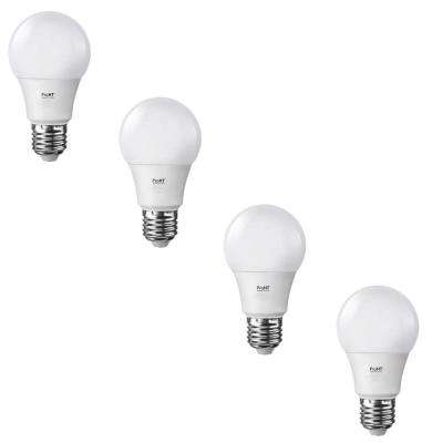 40W Equivalent Soft White E26 LED Non-Dimmable Replacement Light Bulb (4-Pack)