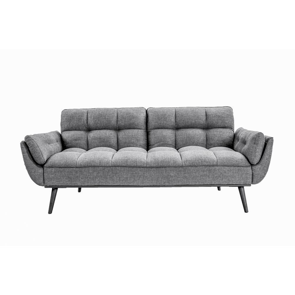 Carly Dark Grey Convertible Sofa