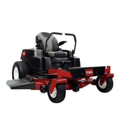 TimeCutter MX5050 50 in. 24 HP Fabricated Deck V-Twin Gas Dual Hydrostatic Riding Zero Turn Mower with Smart Speed