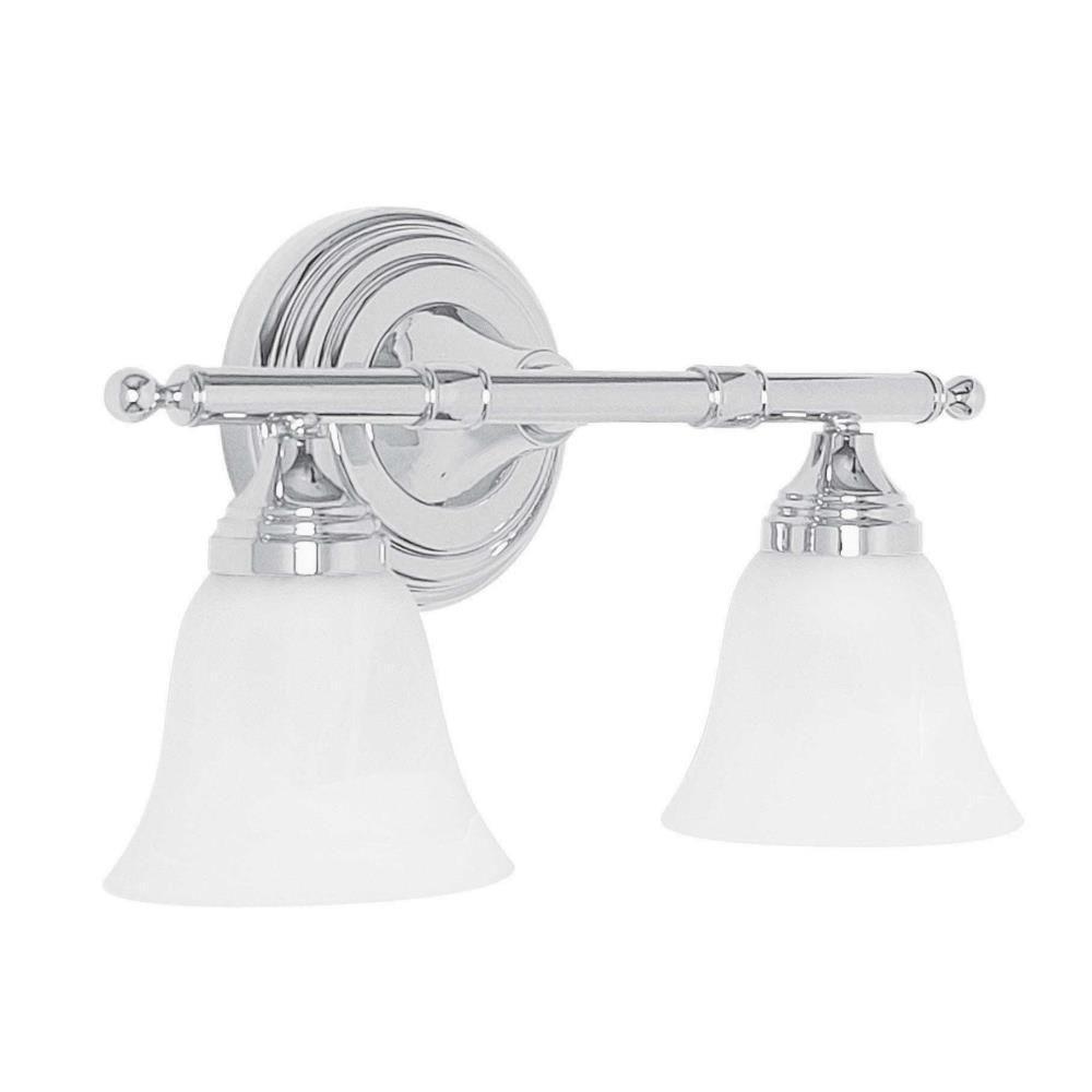 Mason 2-Light Polished Chrome Bath Sconce