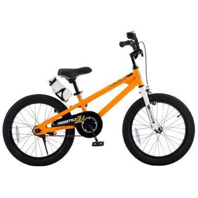 18 in. Wheels Freestyle BMX Kid's Bike, Boy's Bikes and Girl's Bikes in Orange
