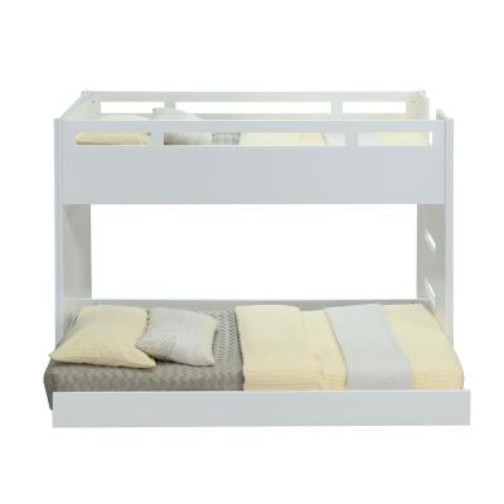Deltana White Twin Loft Bed
