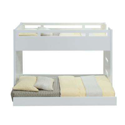 Deltana White Twin Loft Bed