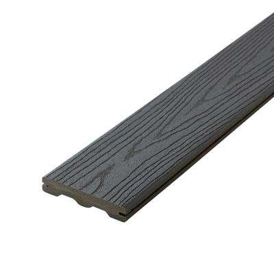 Good Life 1 in. x 5-1/4 in. x 16 ft. Cottage Grooved Edge Capped Composite Decking Board (10-Pack)