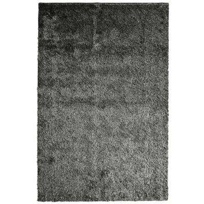 Silk Reflections Salt and Pepper 3 ft. x 5 ft. Area Rug