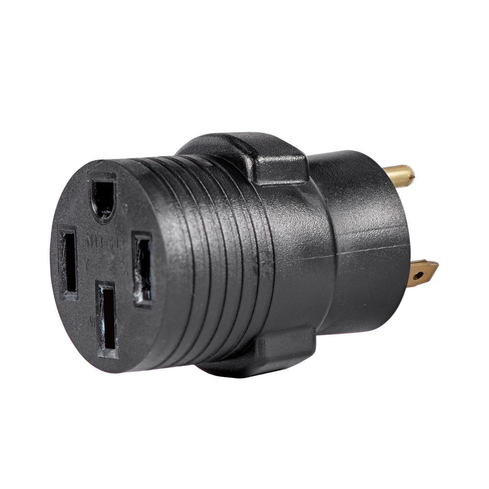 30 Amp 120-Volt TT-30P to 14-50R Generator Plug Adapter
