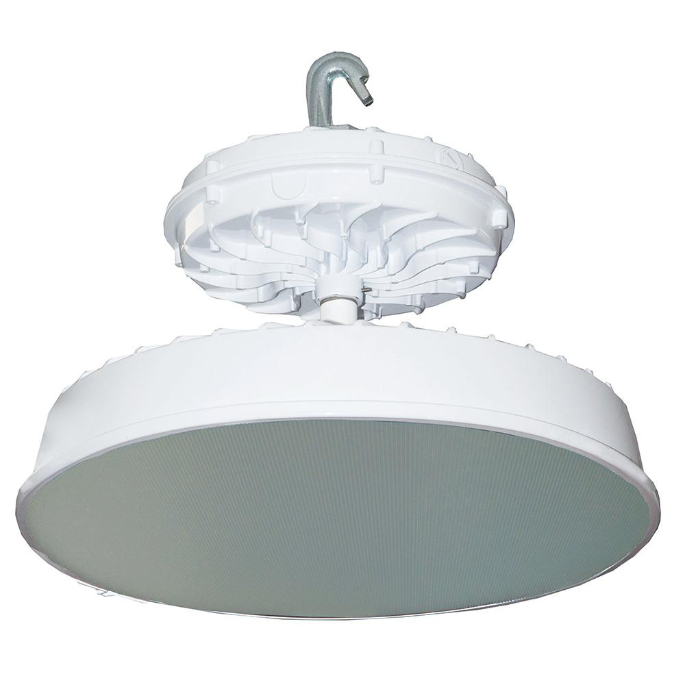 Led High Bay Prismatic Reflector: Radiance 273-Watt White Integrated LED Indoor High Bay