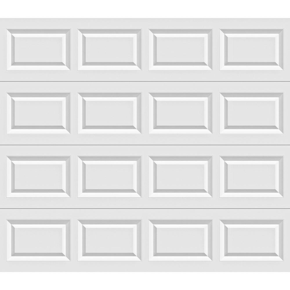 Clopay Classic Collection 8 ft. x 7 ft. Non-Insulated White Garage Door  sc 1 st  The Home Depot & Clopay Classic Collection 8 ft. x 7 ft. Non-Insulated White Garage ...