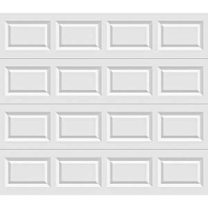 clopay value plus series 8 ft x 6 ft x 6 in 63 rvalue insulated white garage doorhds the home depot