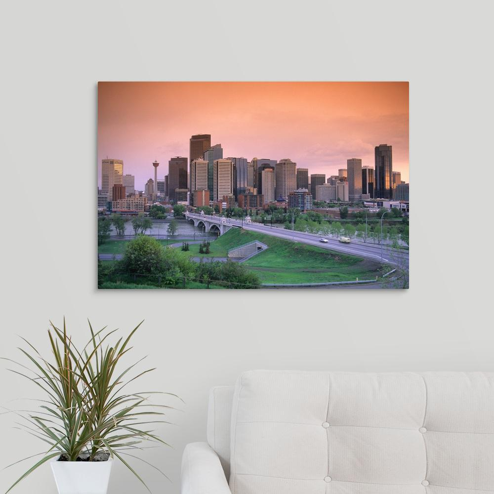 Greatbigcanvas Quot The Skyline Of Calgary Alberta Canada