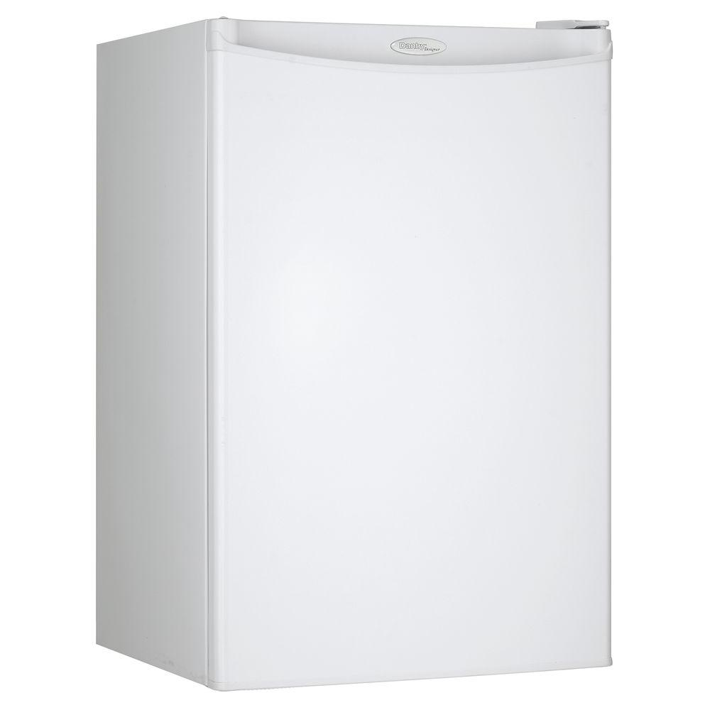 3b194e67101 Danby 4.44 cu. ft. Mini Fridge in White-DCR044A2WDD-3 - The Home Depot