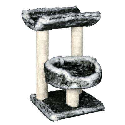 Black/White Isaba Scratching Post