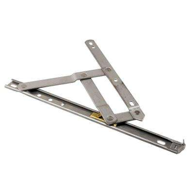 Casement Window Hinge, 4 Bar, 10 in. Standard Duty, Stainless