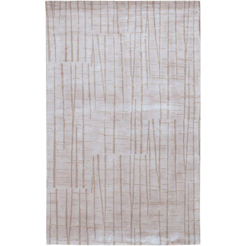 Julie Cohn Beige 4 ft. x 6 ft. Area Rug