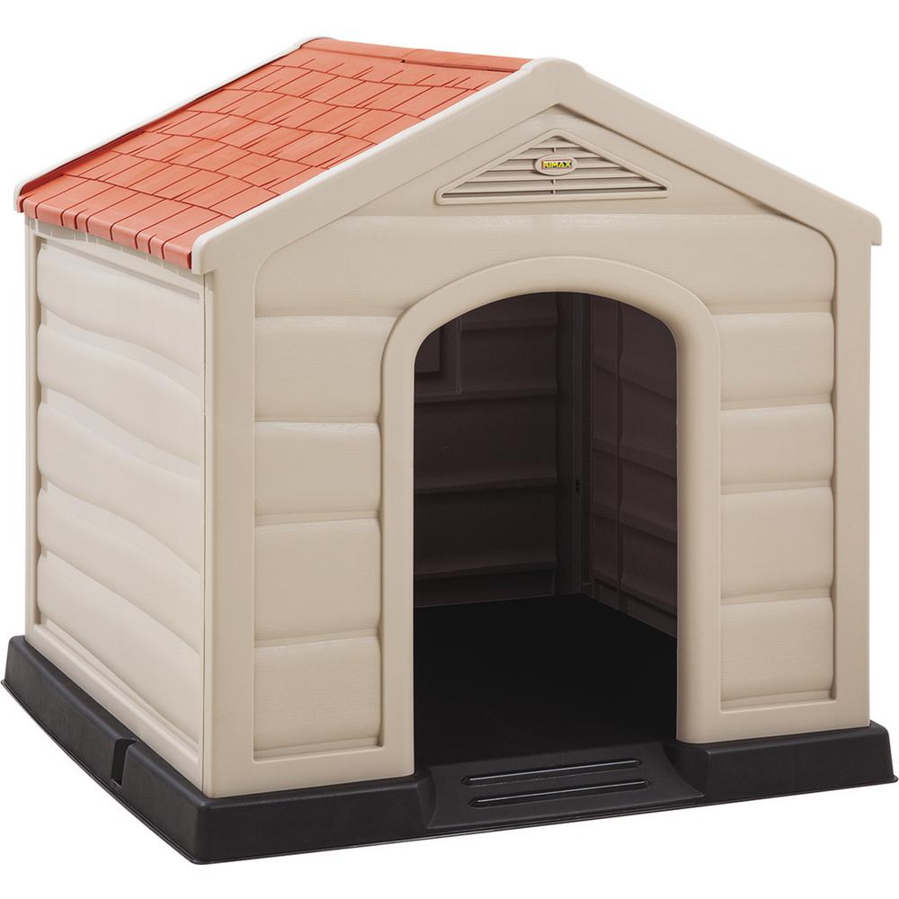 Rimax Outdoor Dog House For Large Breeds 9995 The Home Depot