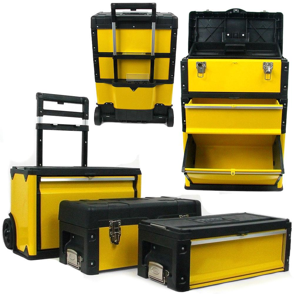 Stalwart 20.5 in. Oversized Rolling Tool Box