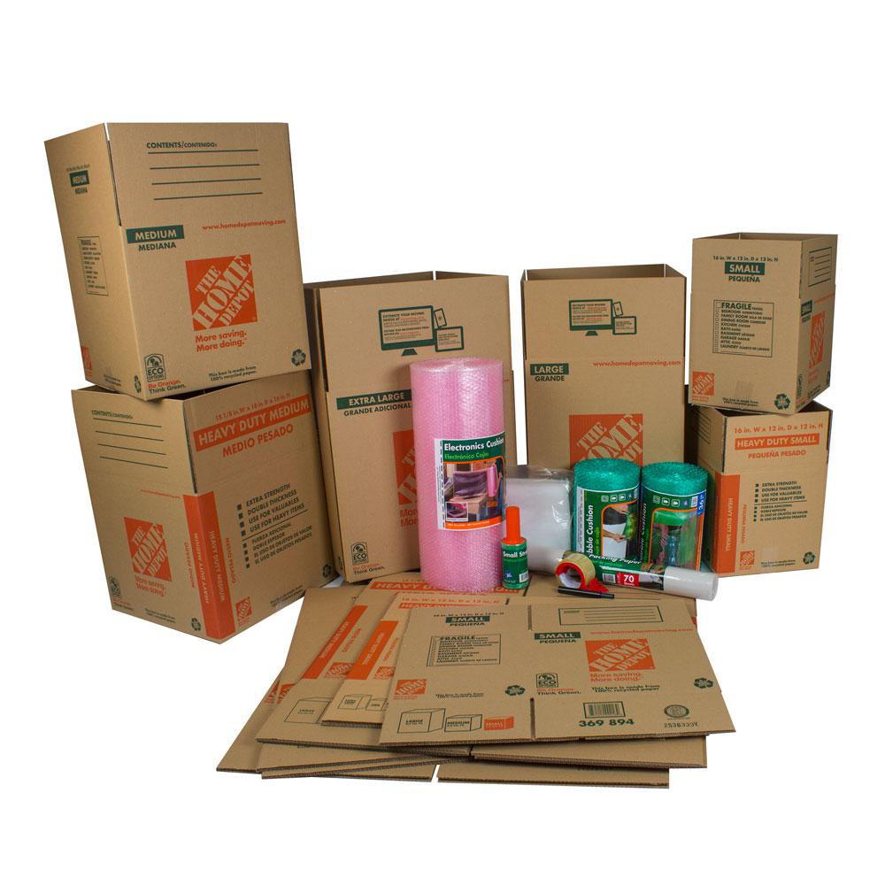 12-Box Living Room Moving Kit