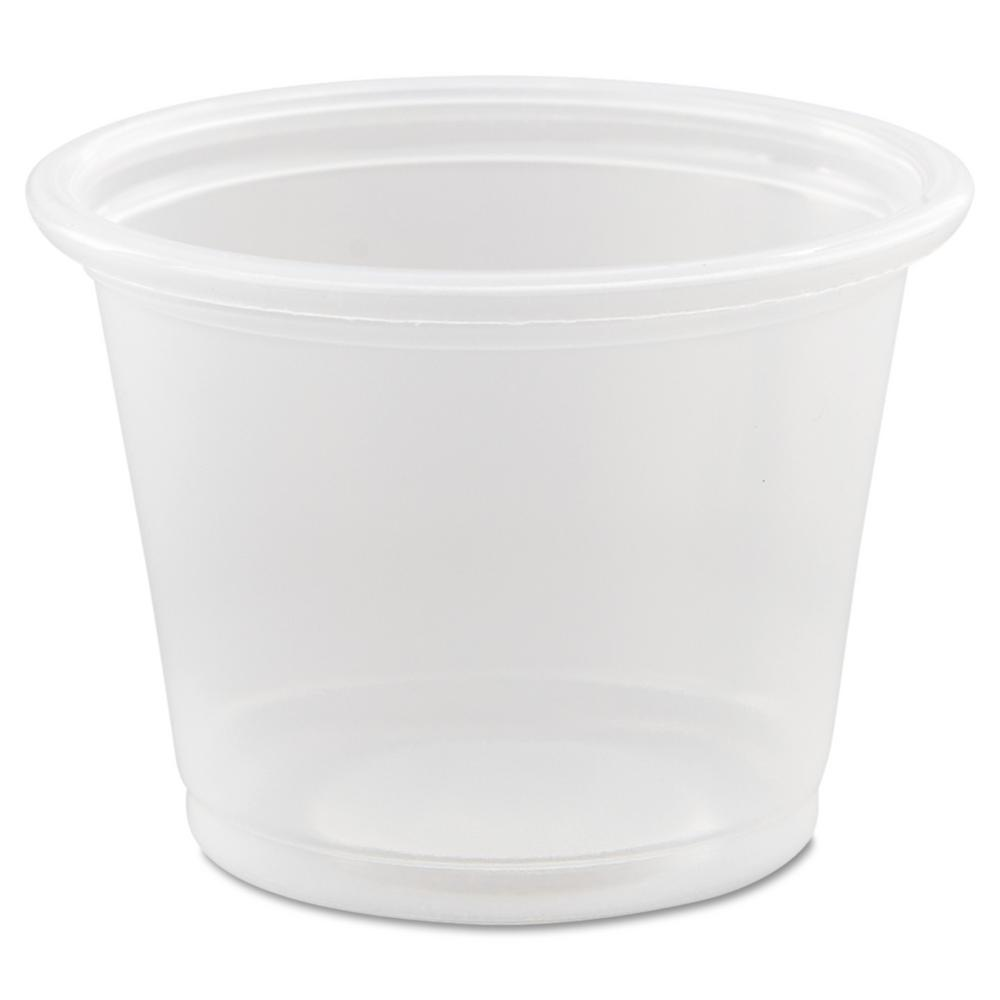 Conex Polypropylene Portion Container, 1 oz., Clear, 2500 Per Case