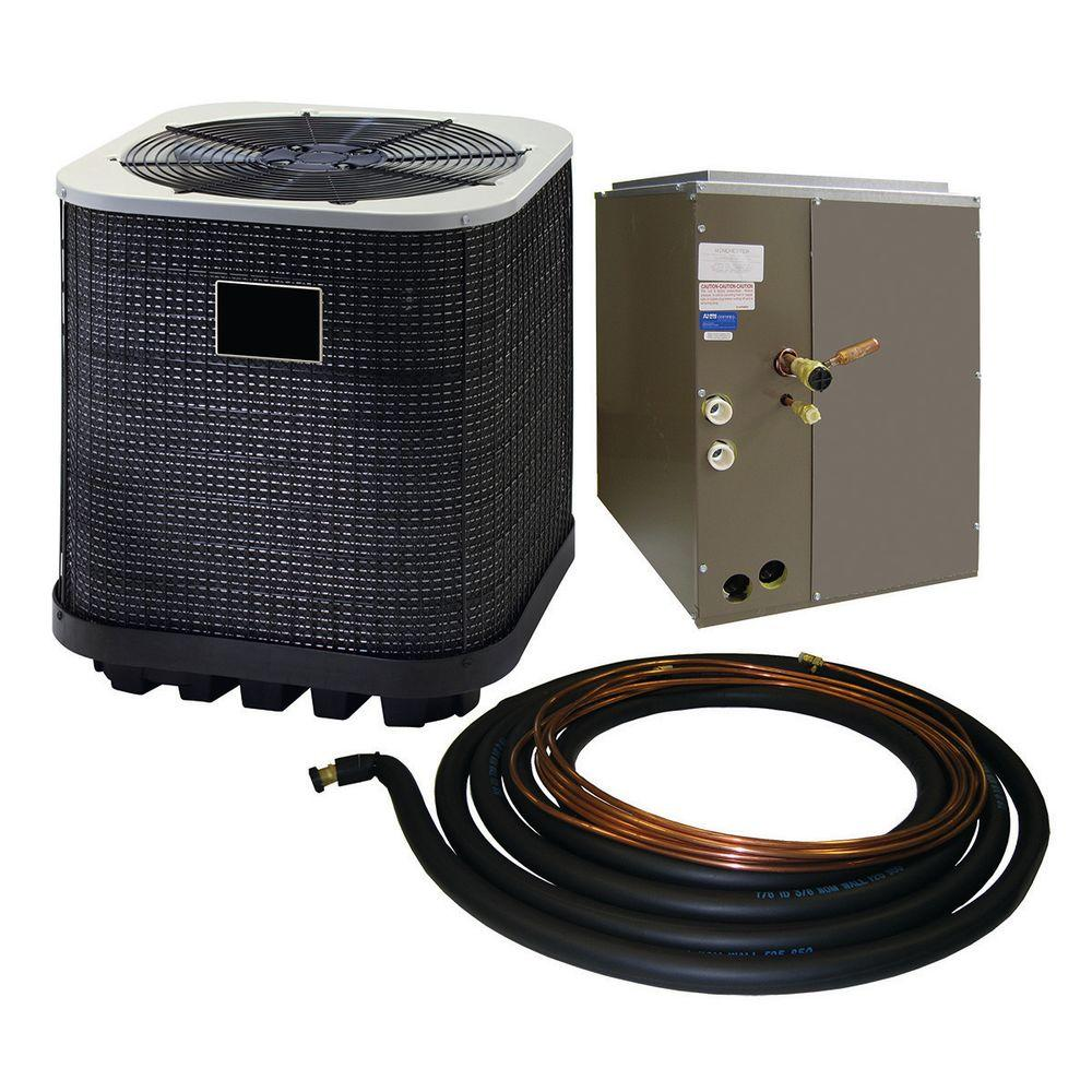 Winchester 4 Ton 13 SEER Quick Connect Air Conditioner System with 24.5 in. Coil and 30 ft. Line Set