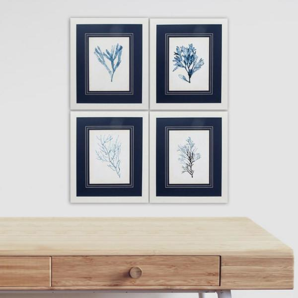 Homeroots Victoria White Gallery Frame Set Of 4 365869 The Home Depot