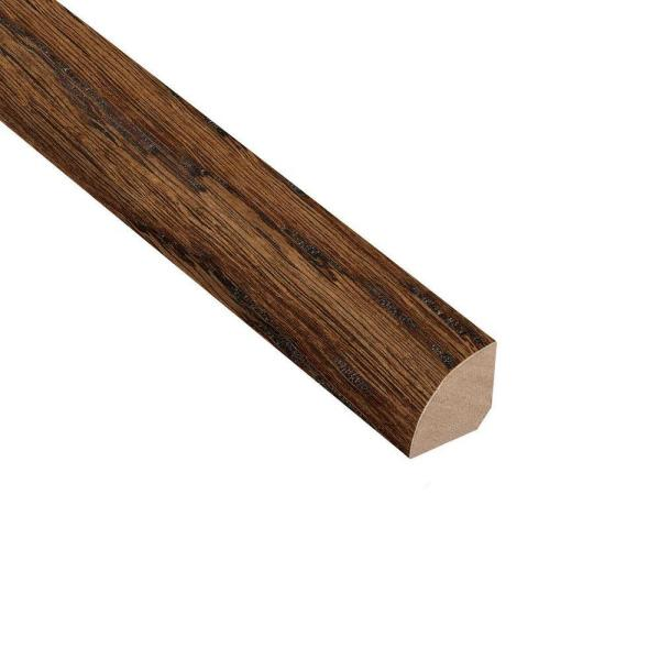Distressed Montecito Oak 3/4 in. Thick x 3/4 in. Wide x 94 in. Length Quarter Round Molding