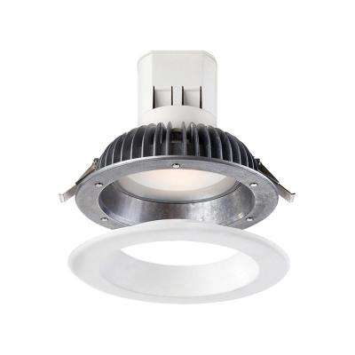 6 in. Bright White LED Easy Up Recessed Ceiling Light with 93 CRI J-Box (No Can Needed)