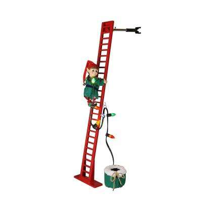 40 in. Mr. Christmas Super Climbing Elf
