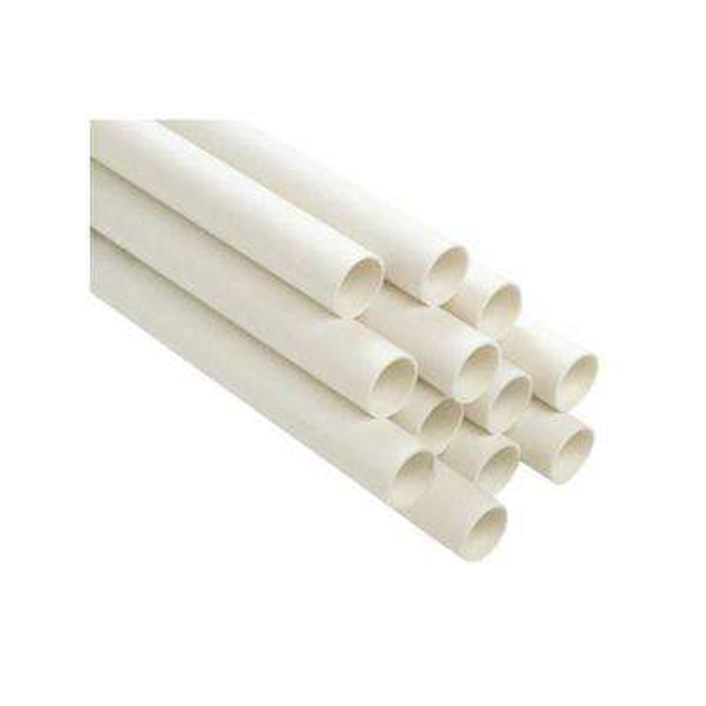 1 in. x 10 ft. Plain End PVC Schedule 40 Pressure Pipe