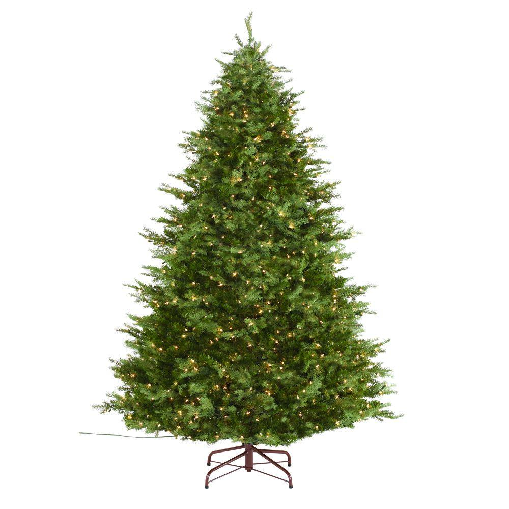75 ft indoor pre lit nordic spruce artificial christmas tree - 8 Ft Christmas Tree