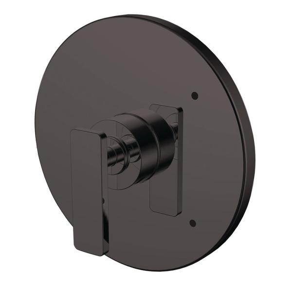 Vector 1-Handle Shower Valve Trim Kit in Matte Black (Valve Not Included)
