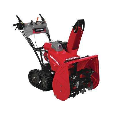24 in. Two-Stage Hydrostatic Track Drive Gas powered Snow Blower with Electric Joystick Chute Control
