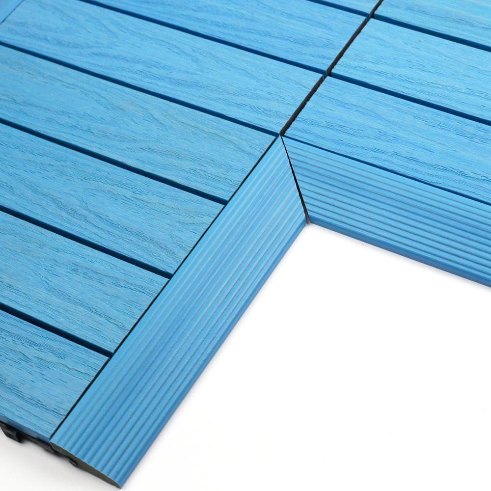 NewTechWood 1/6 ft. x 1 ft. Quick Deck Composite Deck Tile Inside ...