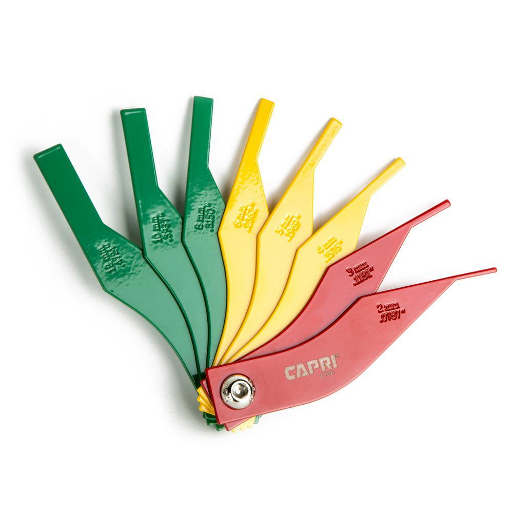 Brake Lining Gauge : Capri tools brake lining thickness gauge cp the