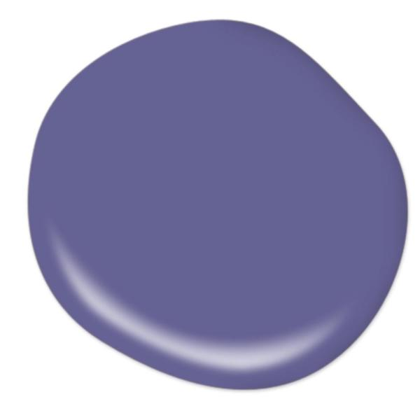 Reviews For Behr Premium Plus 1 Gal T15 13 Prime Purple Eggshell Enamel Low Odor Interior Paint And Primer In One 230001 The Home Depot