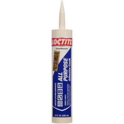 Polyseamseal 10 fl. oz. Almond All-Purpose Adhesive Caulk (12-Pack)