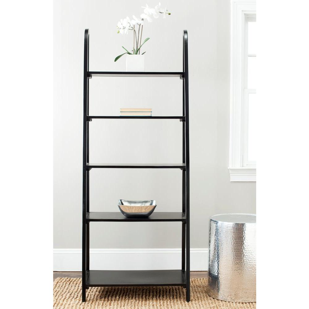 safavieh albert etagere 5 shelves storage unit amh6544b the home depot. Black Bedroom Furniture Sets. Home Design Ideas