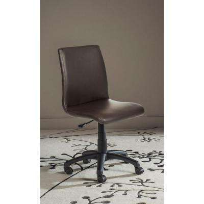 Hal Brown Faux Leather Office Chair