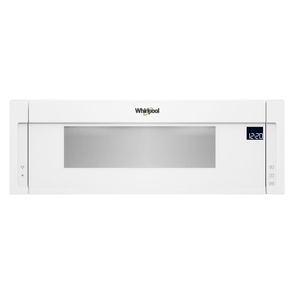 Over The Range Low Profile Microwave Hood Combination In White
