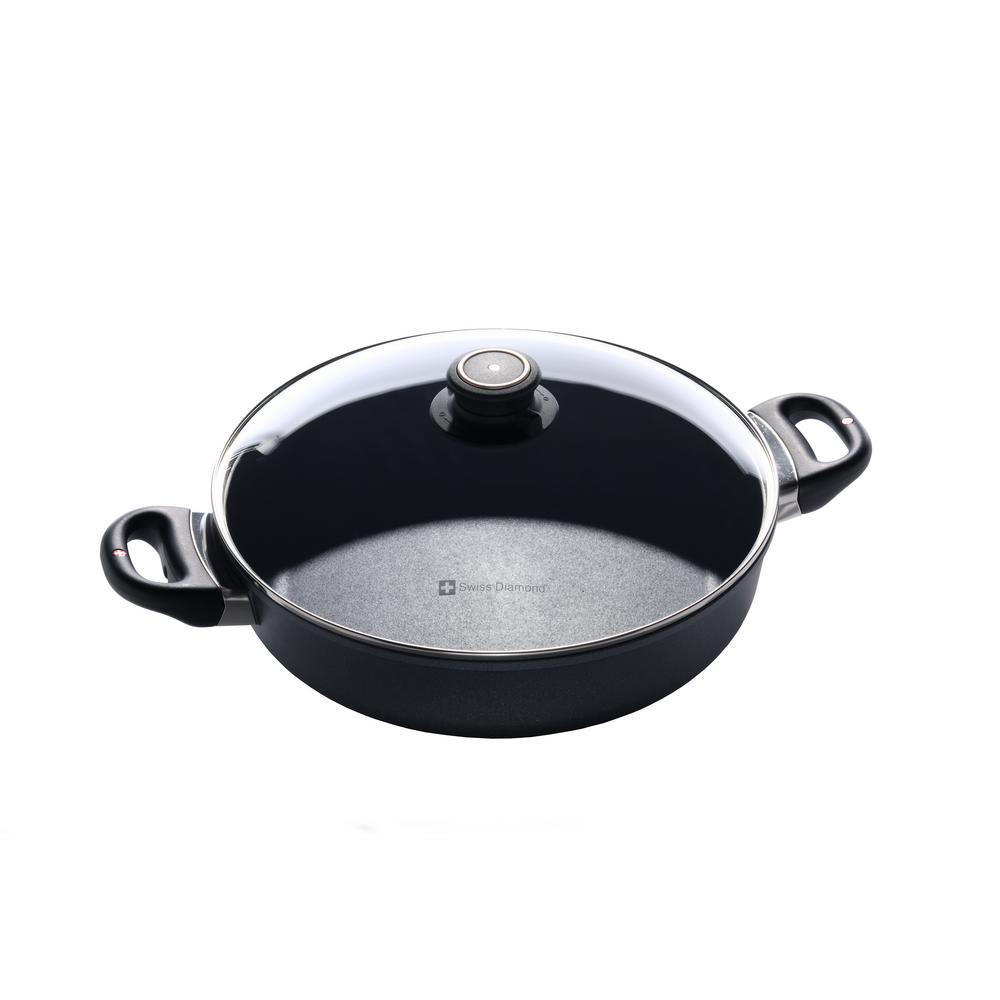 3.7 Qt. Induction Saute Pan with Lid