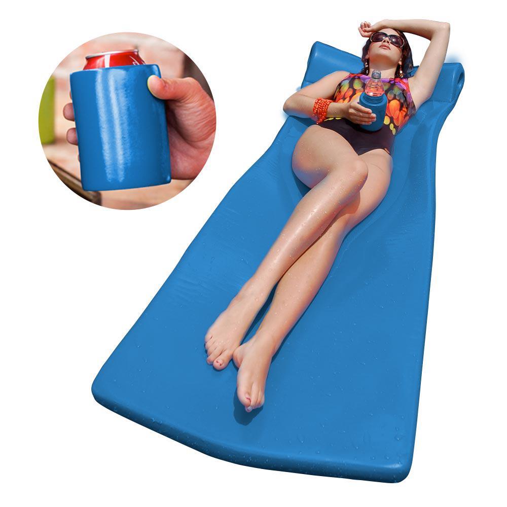 Texas Recreation Kool Float with Kool Kan Blue Pool Float...