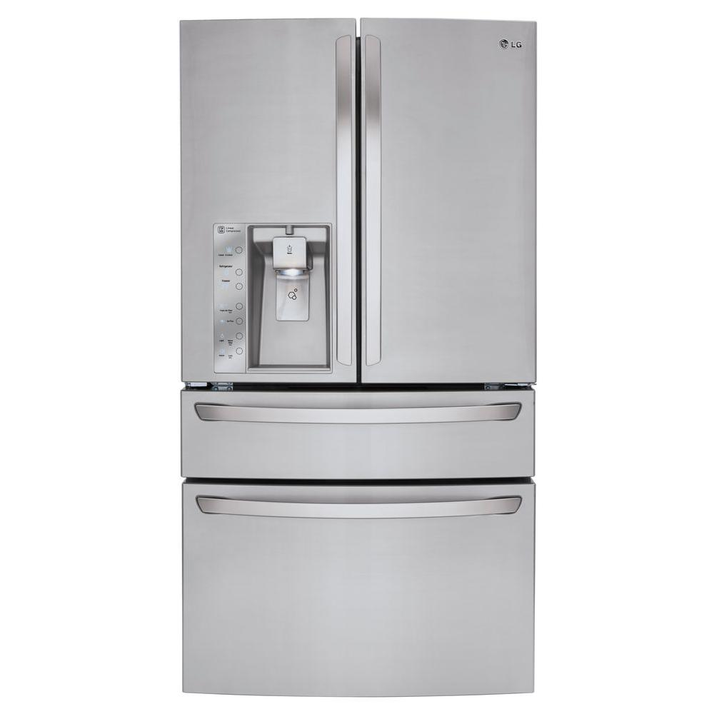 Lg Electronics 29 9 Cu Ft French Door Refrigerator In