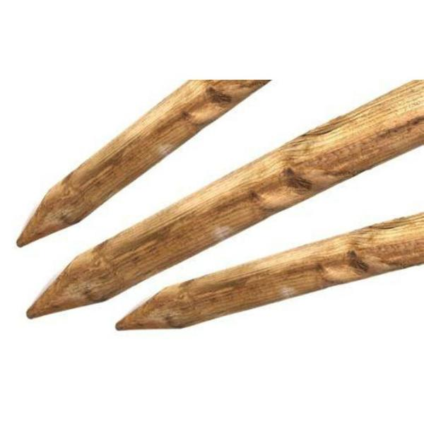 10 ft. Lodge Pole Stakes (6-Pieces per Pack)